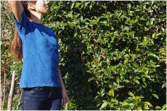 暑い夏におすすめ! ヘンプコットンTシャツ